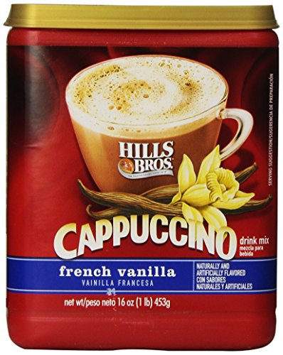 hills-bros-cappuccino-french-vanilla-16-ounce-pack-of-6