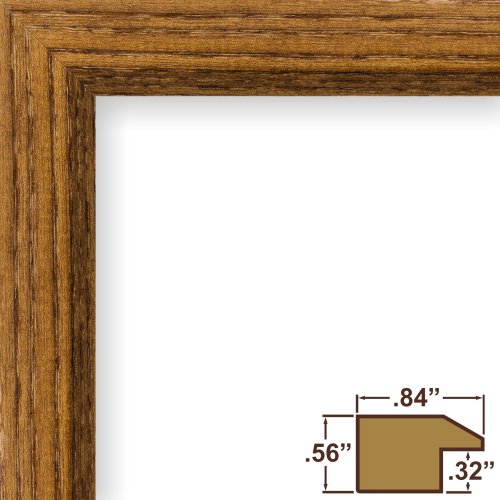 Craig Frames 19x27 Picture Frame, Solid Wood, .84-Inch Wide ...