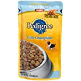 Pedigree Little Champions Morsels in Sauce with Chicken Food for Puppies, 5.3-Ounce Pouches (Pack of 24)