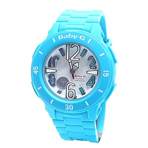 Casio Ladies Baby-G NEON ILLUMINATOR Analog-Digital Casual Quartz Watch (Asia Model) BGA-170-2B