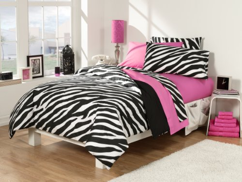 Zebra Print Bedding Twin front-163697