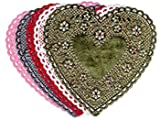 Doilies 6 Red Hearts 100/pk thumbnail