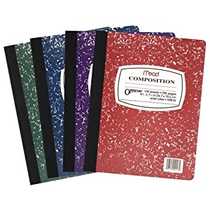 Amazon.com: Mead Composition Book 12-Pac