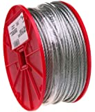 Galvanized Steel Wire Rope, 7x7 Strand Core