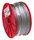 Campbell 7000227 Uncoated Cable on Reel, 1/16