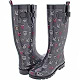 cc21d383142 UPC 885998613247 product image for Capelli New York Ladies' Shiny Pop Owls  Printed Rain Boot ...
