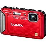 Panasonic Lumix TS20 16.1 MP TOUGH Waterproof Digital Camera with 4x Optical Zoom (Red)
