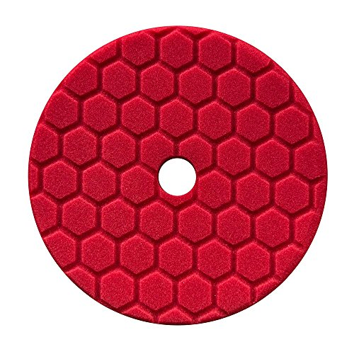 Chemical Guys BUFX117HEX6 Hex-Logic Quantum Ultra Light Finishing Pad (Red, 6.5 Inch) (Jet Seal Chemical Guys compare prices)