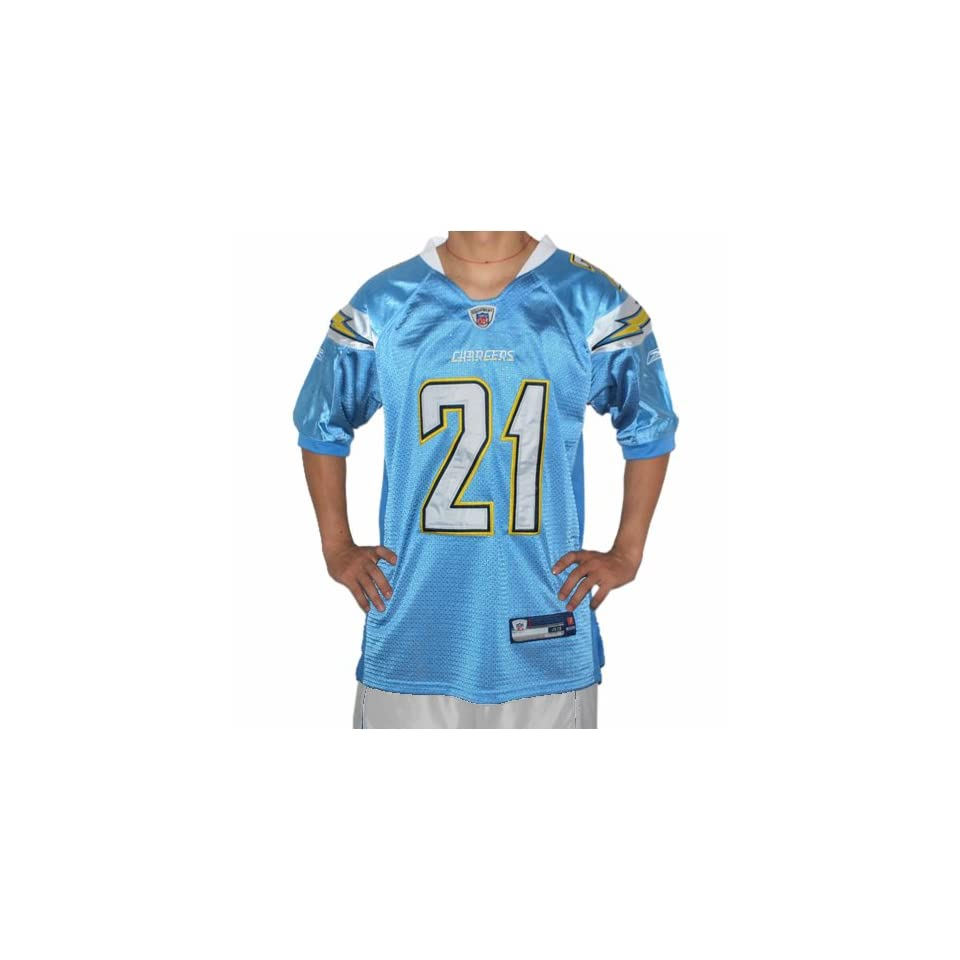 LaDainian Tomlinson #21 San Diego Chargers 2009 NFL jersey. FULLY EMBROIDERED Name, Numbers and all Logos