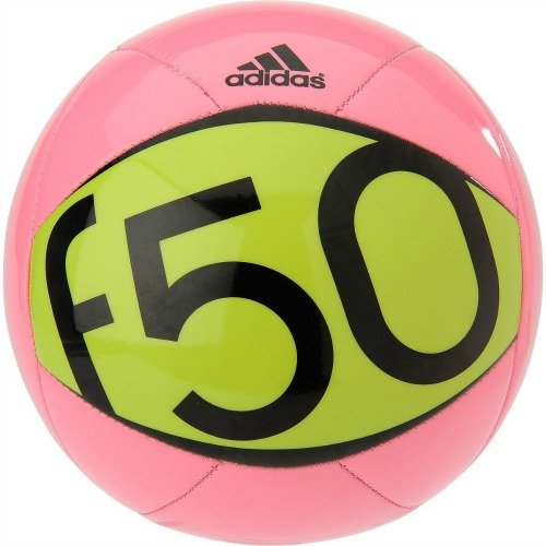 Adidas Performance F50 X-ite II Soccer Ball (Size 4 in Pink)