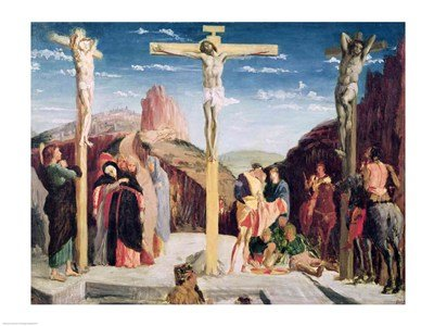 Calvary, after a painting by Andrea Mantegna PREMIUM GRADE Rolled CANVAS Art Print Edgar Degas 24x18