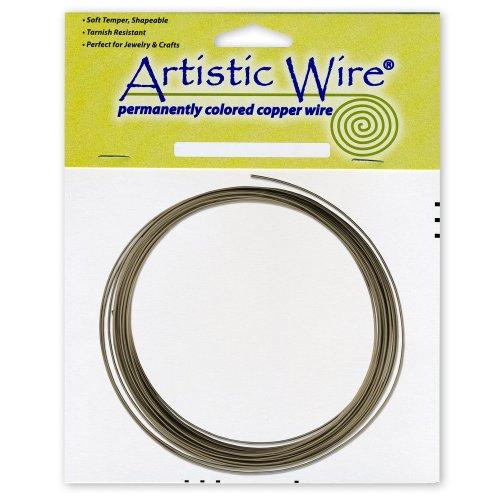 artistic wire 16 gauge wire antique brass 10feet arts