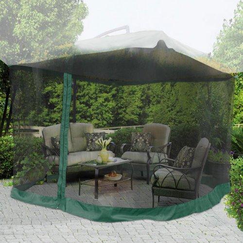 9 X9 Square 6 3 5ft Height Patio Umbrella Mosquito Net