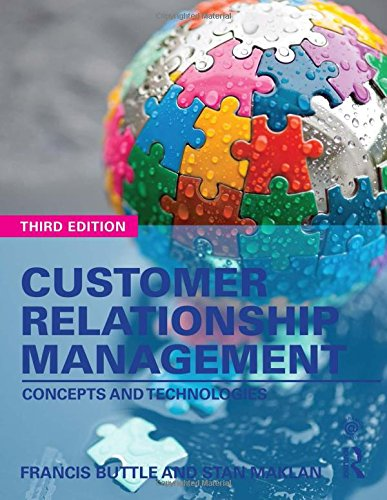 customer relationship management concepts and technologies buttle