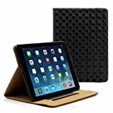 PrimeCases® Checkers Design Smart PU Leather Case Cover For Apple iPad Air