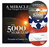 img - for 5000 Year Leap Paperback Book + Audiobook MP3 + Patriot's Handbook 3 CD set book / textbook / text book