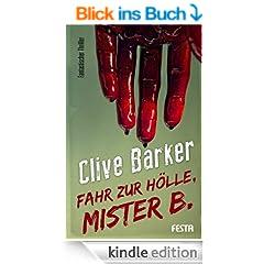 Fahr zur H�lle, Mister B.: Fantastischer Thriller
