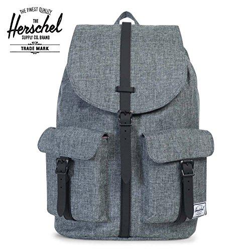 Herschel Supply ハーシェルサプライ DAWSON / Raven Crosshatch × Black Synthetic Leather [10233-00919-OS]|Raven
