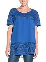 Silvian Heach Blusa (Azul Medio)