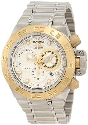 Invicta Men's 10145 Subaqua Noma IV Chronograph White Textured Dial Watch