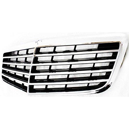 Diften 102-A5001-X01 - New Grille Grill Mercedes E Class Sedan Mercedes-Benz E320 E350 E550 2118801783