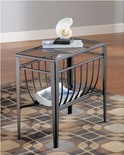 "Cheap Chair Side End Table by ""Famous Brand"" Furniture (T133-7)"