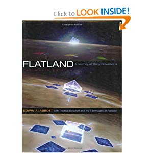 Flatland: The Movie Edition by Edwin A. Abbott, Thomas Banchoff, Seth Caplan and Jeffrey Travis