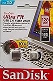 SanDisk Ultra Fit 128GB USB 3.0 Flash Drive (SDCZ43-128G-G46) [Older Version]