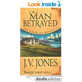 A Man Betrayed (Book of Words)