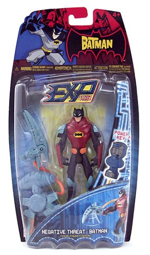 Buy The Batman Extreme Power Negative Threat Batman Figure