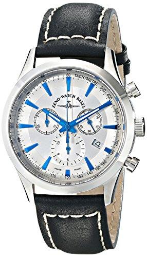 Zeno Men'S 6662-5030-G3 Gentlemen Analog Display Quartz Black Watch