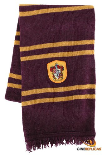 Harry Potter Gryffindor House Scarf (Purple & Gold)