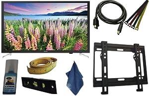 Samsung TV 32-Inch UN32J5205 1080p Smart LED TV - 8 PC Kit