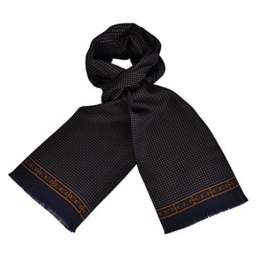 toutacoo-foulard-di-seta-della-carven-per-uomo-tic-tac-blu
