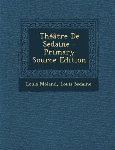Théâtre De Sedaine