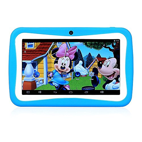 LLLccorp 7 inch Kids Education Tablets RK3126 Quad core Android 5.1 Bluetooth 512MB+8GB Kids Games & Apps mini tablet pc (Tablet With Apps compare prices)