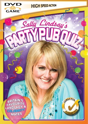 Sally Lindsay Pub Quiz DVD Game [Interactive DVD]