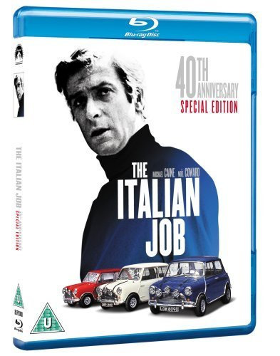The Italian Job (Special 40th Anniversary Edition) [Blu-ray] by Paramount Home Entertainment (Italian Job Blu Ray compare prices)
