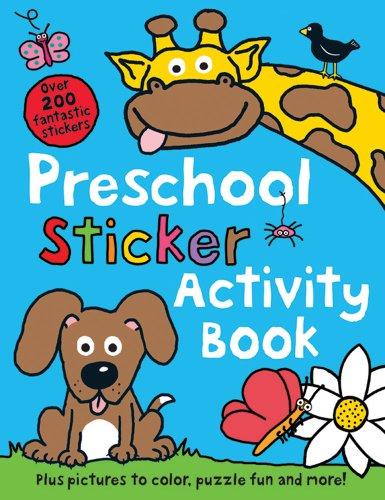 Preschool Color & Activity Book front-756091