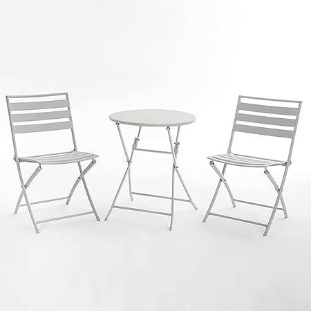 Gartenmöbel-Sets Bugeleisen Tische und Stuhle / Außen Balkon Klappmöbel / Klapptische und Stuhle Kombination Set Tische Stuhle Möbel Sets ( Farbe : D )