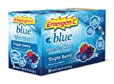 Emergen-C Vitamin C Blue Fizzy Drink Mix 30 Sachets