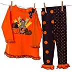 Turkey and Polka Dots Legging Set