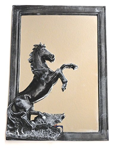 Horse Mirror 3 Dimensional Wall Hanging