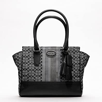 coach black and gray purse zpf8  coach black and gray purse