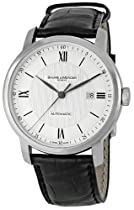 Baume and Mercier Classima Executives Silver Guilloche Mens Watch 8868