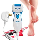 Powerful Electric Callus Remover Rechargeable - Best Micro-Pedi Electronic Foot File Shaves Dead Hard Cracked Skin & Calluses on Feet - Professional Pedicure Spa Like Result at home