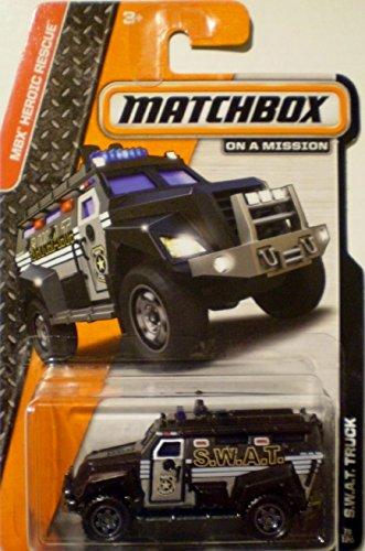 2014 Matchbox S.W.A.T. Truck - 1