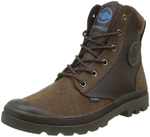 PalladiumSpor Cuf Wpn U - Stivali Unisex - Adulto , Marrone (Marron (F01 Chocolate/ Forged Iron)), 42