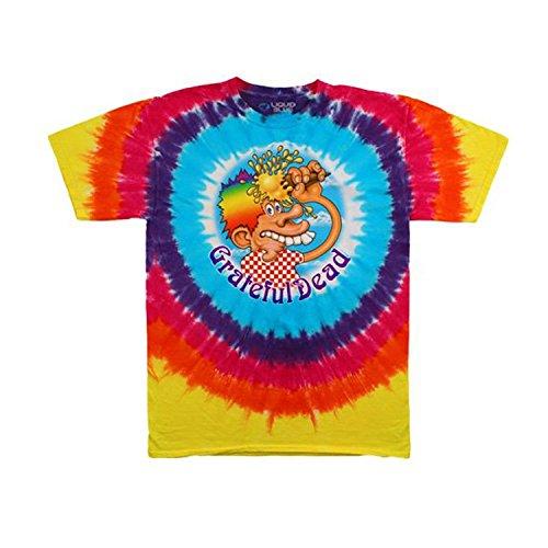Grateful Dead Men's Ice Cream Cone Kid Tie Dye T-shirt X-Large Multi (Ice Cream T Shirt Men compare prices)