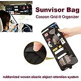 HPK Car Sunvisor Interior storage bag Grid-It Organizer System Kit Case Bags Stowing Tidying bag Travel Bag Insert
